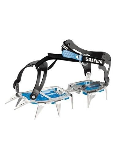 Salewa  - Alpinist Walk Bağlamali Steel/Blue - Krampon Mavi